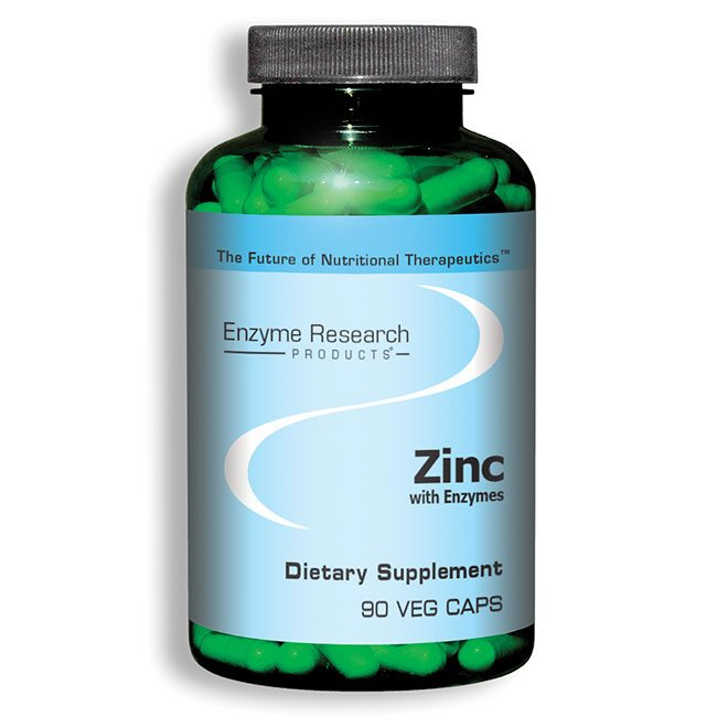 Zinc with Enzymes   Enzyme Research Products   Retail ...